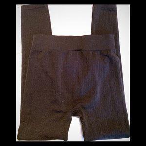 Knit leggings from motherhood maternity